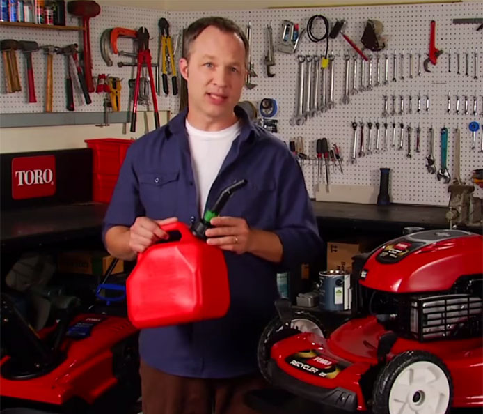 Fuel Tips for Gasoline Lawn Mowers and Snow Blowers