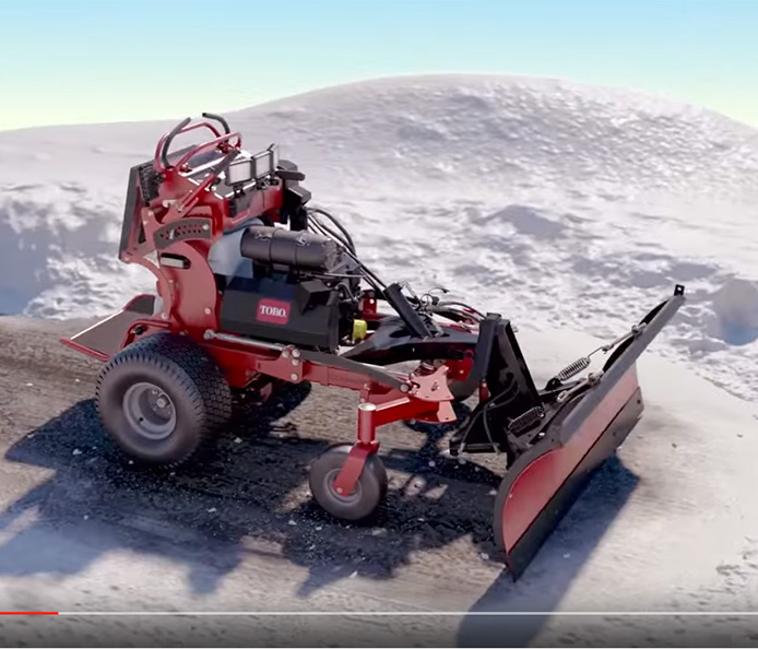 "Stand Behind Lawn Mower >> Toro | 60"" 26.5 HP 747cc (74523)"