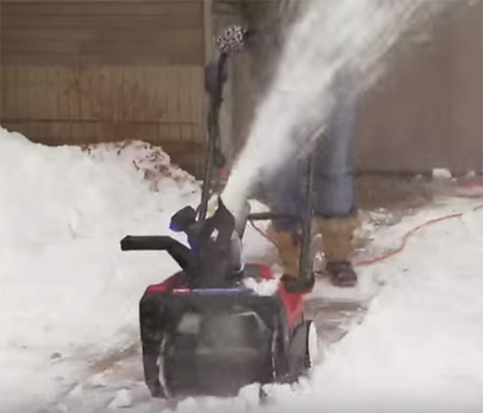 Gas-Free Electric Snowblower - Toro® 1500 Power Curve®