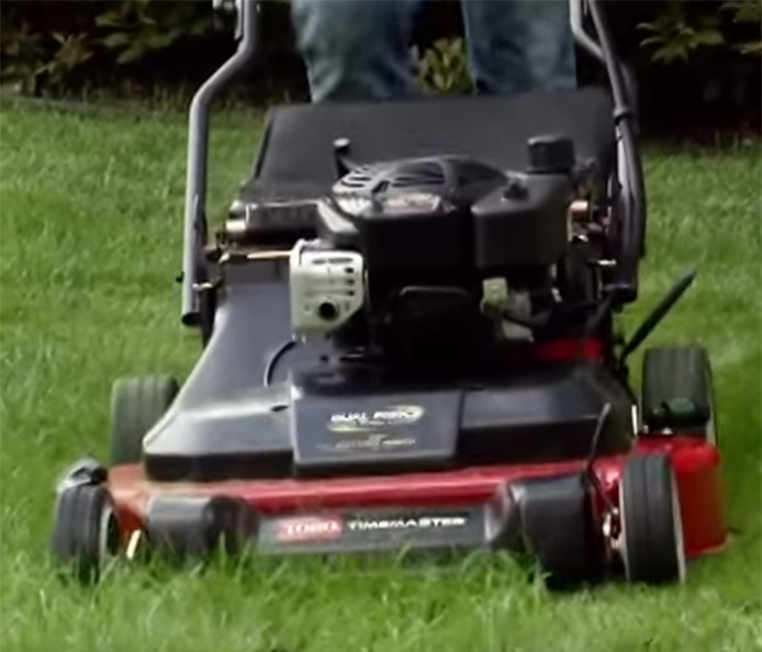 "Toro Timemaster 30"" Walk Mower -- Save 40% of Your Time"