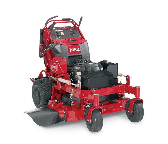 GrandStand Stand On 20Mower 74534TE in addition Lawntractor furthermore 29558082 moreover Ride On Slasher Toro additionally Watch. on toro commercial mowers