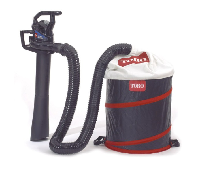 Vacuum And Blower Systems : Toro universal leaf collector